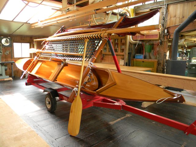 John Rollit Woodworking Quot Ulua Quot Outrigger Sailing Canoe